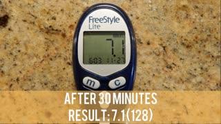Majhoul Dates - Blood Sugar Test