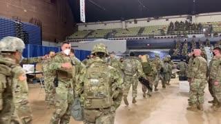 National Guard Support Mission Washington D.C., Jan. 9, 2021