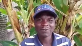 Man tries to speak English