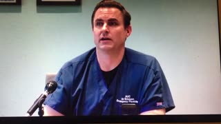 Dr. Erickson's First COVID Press Conference