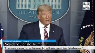 """As everyone now recognizes media polling was election interference."""