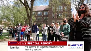 Michigan State University Back To Campus Rally