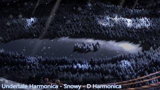 Undertale Harmonica - Snowy - D Harmonica (tabs)
