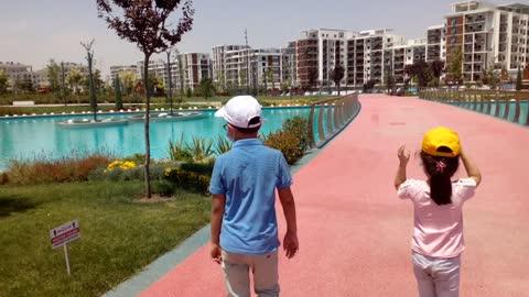 Wonderful pool in Tashkent