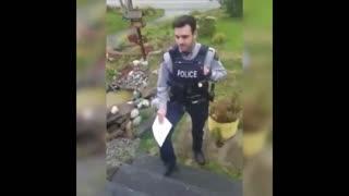 Canadian Police Come To Man's Door Over Facebook Post
