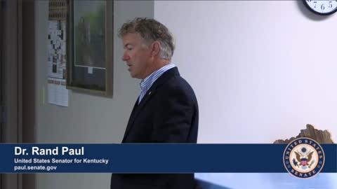 Dr. Rand Paul Speaks with Kentuckians in McLean County, KY