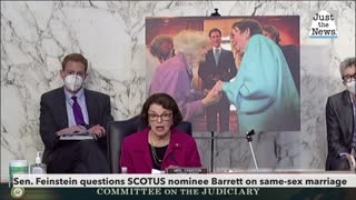 Sen. Dianne Feinstein questions SCOTUS nominee Coney Barret on same-sex marriage