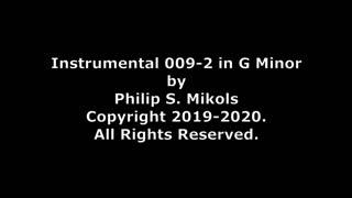 Instrumental 009-2 in G Minor