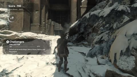 Rise of the Tomb Raider DLC Score Attack Voice of God collectibles location + archeology