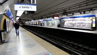 San Martin subway station
