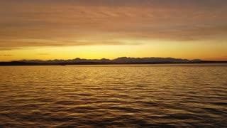 Golden Hour Water Bliss