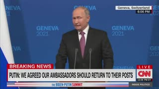 Putin Deflects On Human Rights In Russia