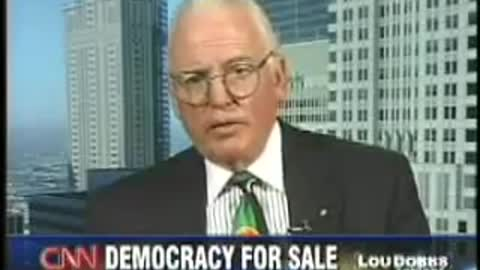 'Our nation's democracy is now for sale': Lou Dobbs on Dominion voting machines in 2006
