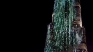 Dubai, United Arab Emirates. Good night!Дубай, Объединённые Арабские Эмираты. Доброй ночи!