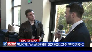Project Veritas' James O'Keefe discusses election fraud evidence