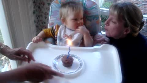 Birthday Cake is not for me Mommy!