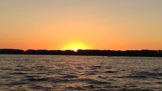 Beautiful views of the Volga River during a boat trip