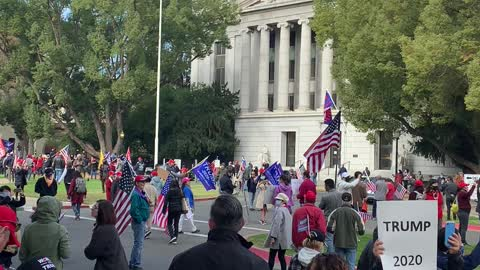 MAGA StopTheSteal rally