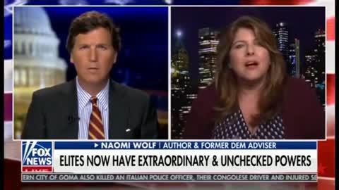 Naomi Wolfe Speaks Truth To Power On Tucker Carlson | The Washington Pundit