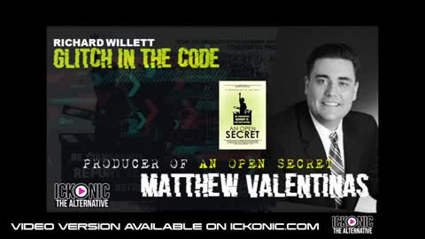 GLTICH IN THE CODE SHOW - MATHEW VALENTINAS - AN OPEN SECRET & CHILD GROOMING IN HOLLYWOOD