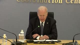 Biden Gets Lost Reading His Notes