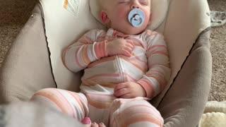 Sleeping Girl Wakes for Cookies