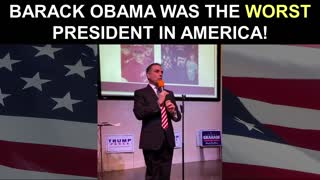 Barack Obama Was The WORST President in America