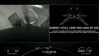 Falcon 9's first stage has landed on the Of Course