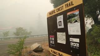 """El incendio """"Dixie"""" preocupa a los servicios de emergencia de California"""
