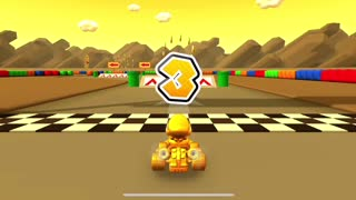 Mario Kart Tour - Coin Rush Gameplay (Peach vs. Daisy Tour)