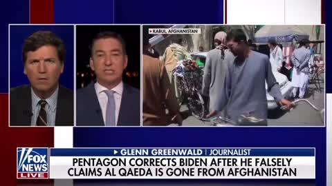 Glenn Greenwald Talks to Tucker About Anger Over Afghanistan and Biden's Cognitive Decline