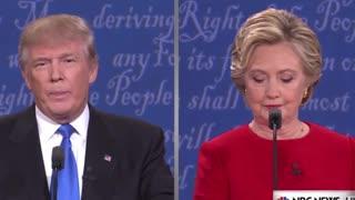 Donald Trump sniffy sniff