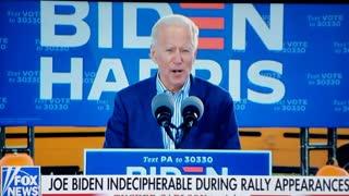 Yet another Biden Gaffe