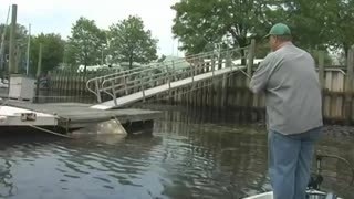 Delaware River Bass Fishing with a Professional Anglers Insight on how to search for bass.