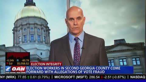 DeKalb County, GA: Vote Adjudicator Speaks Out on Election Fraud