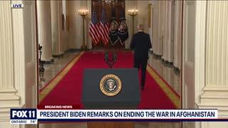Biden Defends Afghanistan End