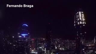 Valentine meteor lights up Melbourne sky