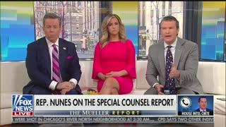 Devin Nunes says to burn Mueller report