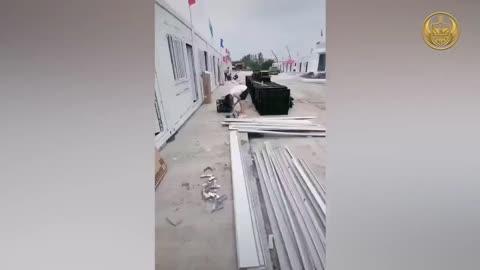 Quarantaine Camps in China 2021