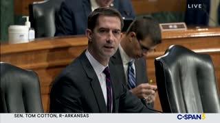 Senator Cotton Unloads on Merrick Garland