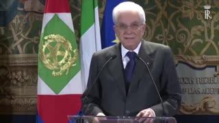 🔴 Mattarella al Quirinale, 15 Aprile 2016, riunione plenaria della Commissione Trilateral