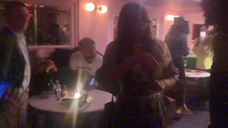 Harvey Weinstein confronted at Manhattan bar