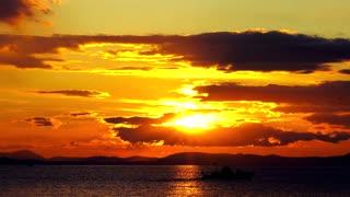 beautiful sunset image
