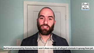 Bail fund promoted by Kamala Harris won't share records of alleged criminals it sprung from jail