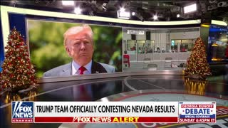 Trump team officially contesting Nevada election results