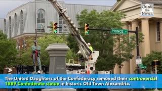 Controversial Confederate Statue Removed in VA