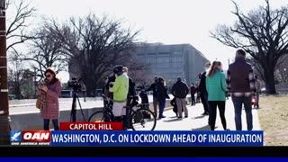 Washington D.C. on lockdown ahead on inauguration