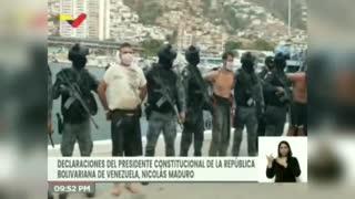 "Maduro confirma detención de dos estadounidenses en un grupo de ""mercenarios"""