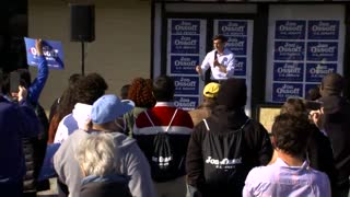 Ossoff: 'Y'all, They're Trying to Take Away Your Voting Rights Right Now!'