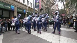 Bolivian and Peruvian dance festival Chile